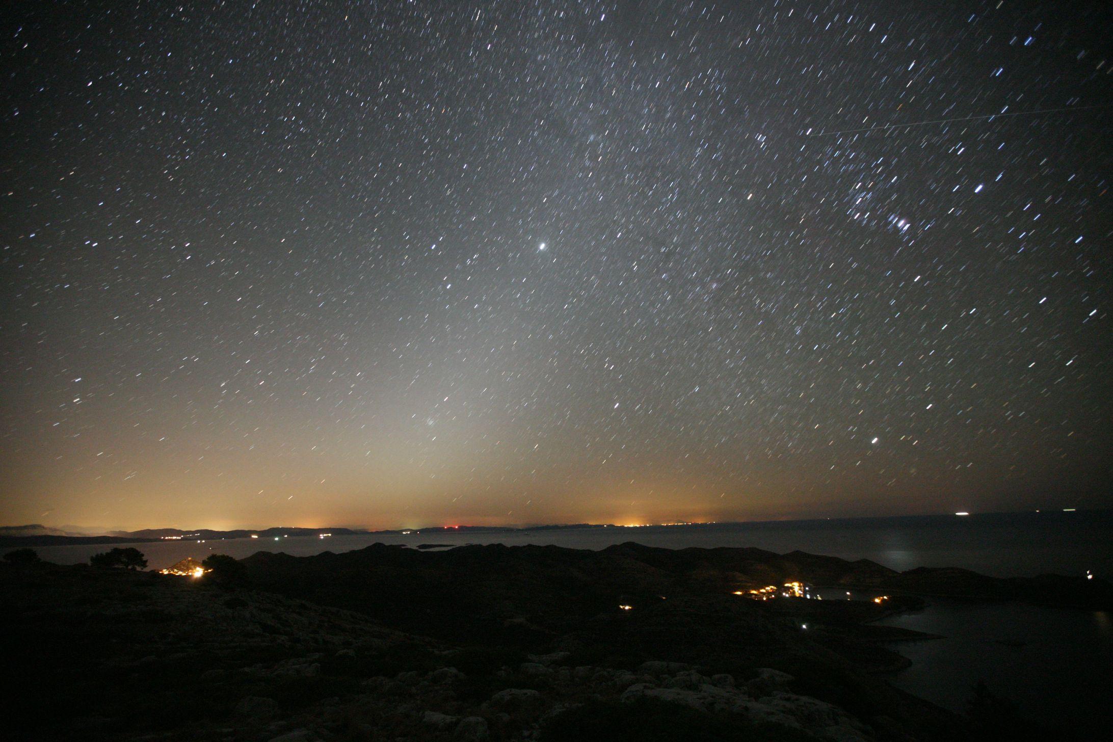 Lastovo, Croatia - zodiacal light MR